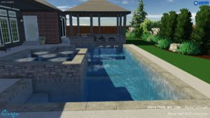 Garrison Pool With Patio